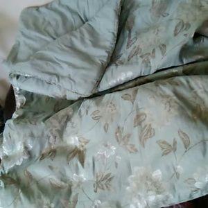 Other - Chris Madden Sage green queen comforter